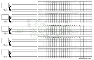 custom scoresheets www pts85 com